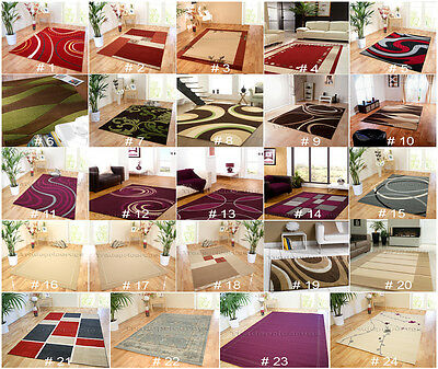 Small Extra Large Modern Mat Non-Shed Durable Good Quality Uk Discount Price Rug