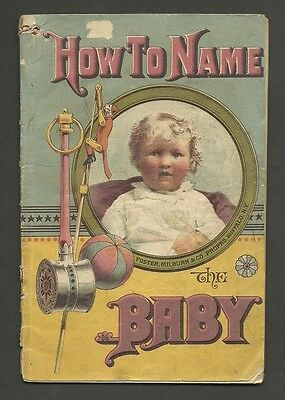 32 Page 1883 Booklet HOW TO NAME the BABY also Diseases & Their Treatment