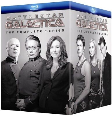 Battlestar Galactica: The Complete Series [New Blu-ray] Boxed Set, Digipack Pa