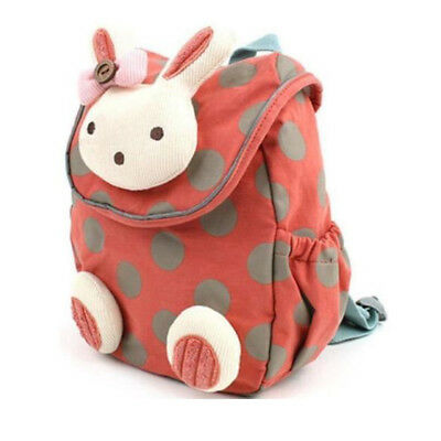 Baby Toddler Kids Girls Cartoon Animal Backpack Schoolbag Shoulder Bag Anti-lost