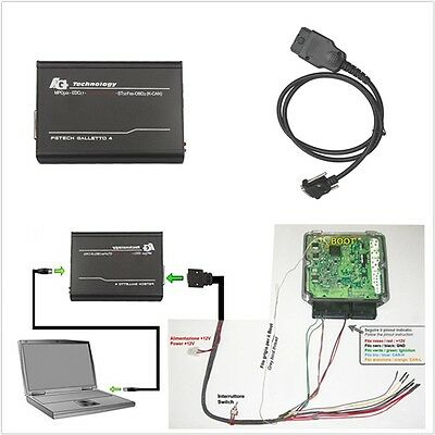 Car V54 FG Tech Galletto 2-Master V54 BDM-OBD Unlock Version ECU Programmer Tool