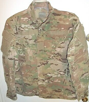 US Army Multicam FRACU Insect Flame Resistant FR OCP Jacket Medium Short M/S