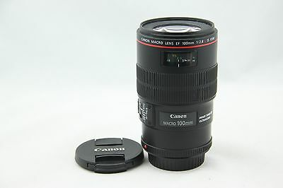 Canon EF 100mm f/2.8 L IS USM Lens. Excellent Condition. Fast Shipping
