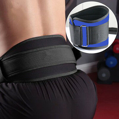 Weight Lifting Training Waist Protective Belt Gym Fitness Back Brace Support NEW