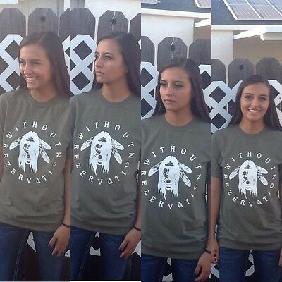 WithOut Rezervation Native American Indian pow wow FREE SHIP SMALL cotton shirt