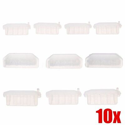 10 pcs Silicon Protective AntiI Dust HDMI Plug Cover Stopper for PC Laptop TV