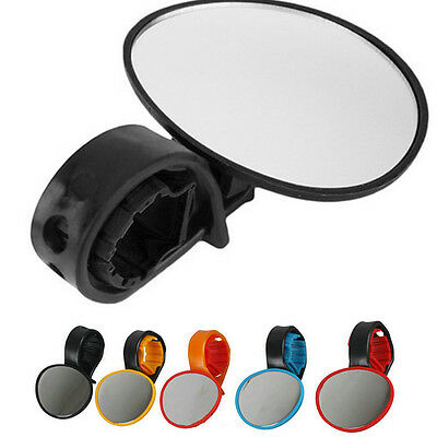 360° Rotating Handlebar Safety Rearview Mirror Bicycle Cycling Bike 5 Colors UK