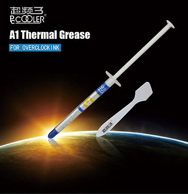 Pccooler A1 2g 20% Silver Included Thermal Grease Paste for PC CPU Heatsink Grap