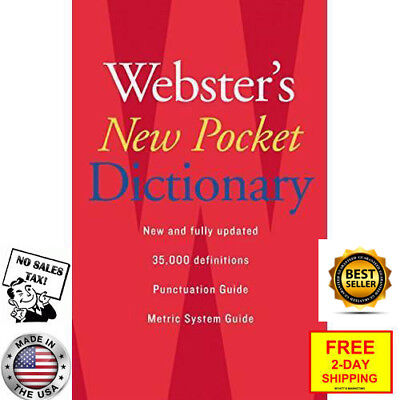 FREE 2 DAY SHIPPING: Webster's New Pocket Dictionary (Paperback)