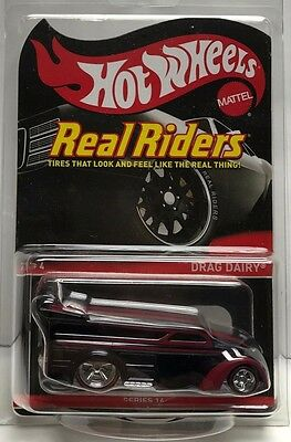 Hot Wheels 2016 Red Line Club RLC  Real Riders Series 14 - Drag Dairy RR #d/6000