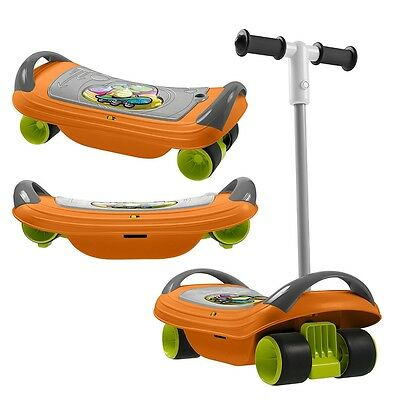Chicco Fit N Fun Balance Skate, Kids 3 in 1 Scooter, Balance & Skate Board