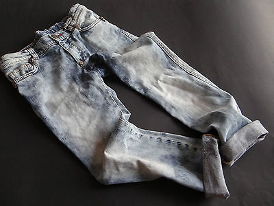 PHILIPP PLEIN Super coole stone washed Jeans Gr.8/128 w.NEU!