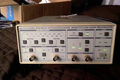 Stanford Research SR560 preamplifier
