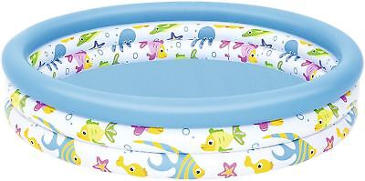 "Bestway Splash N Play Inflatable Ocean Life Swimming Paddling Pool - 48"" x 10"""