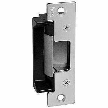 HES 5200 Series Stainless Steel In Frame Adaptable Electric Strike Body, Satin