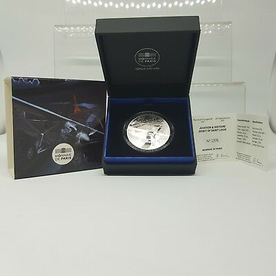 Francia 10 Euros 2017 Proof Plata - Spirit Of St. Louis