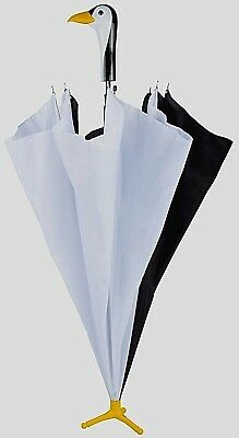 Penguin Unisex Walking Umbrella with Stand Quirky Gift Animal Lovers Batman