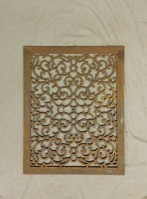 Antique Cold Air Return Grate Register Decorative Vent Old Vintage 26x20 225-17P