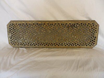 Antique Cast Iron Hot Water Steam Radiator Cover Plant Stand Garden Vtg 229-17P
