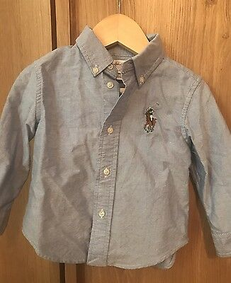 Ralph Lauren 18m Blue Shirt Next Boy