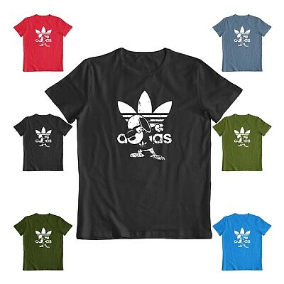 Funny Snoopy dubing dance Adidas graphic sarcastic gift