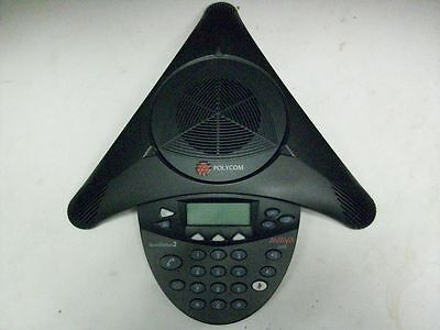 Polycom Soundstation 2 Avaya 2490 2301-16375-601 Office Conference Phone