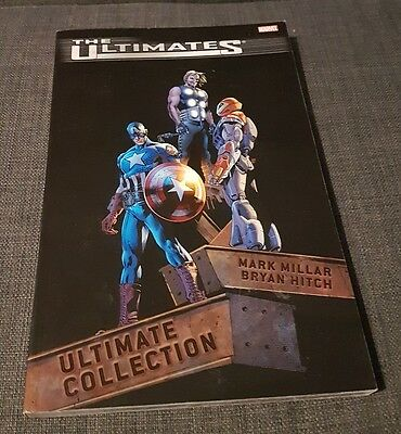 Graphic Novel Marvel The Ultimates Ultimate Collection