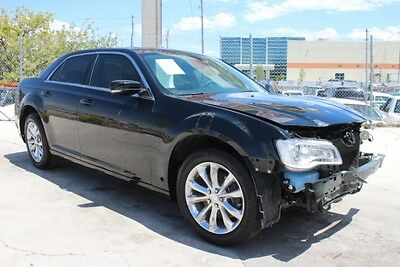 2016 Chrysler 300 Series Limited AWD 2016 Chrysler 300 Limited AWD Wrecked Rebuilder Only 3K Mi Luxurious Wont Last!!