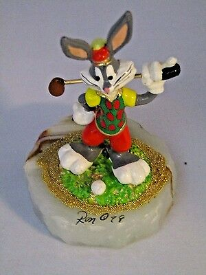Bugs Bunny Ron Lee Hand Signed Figure   FREE SHIPPING!!!