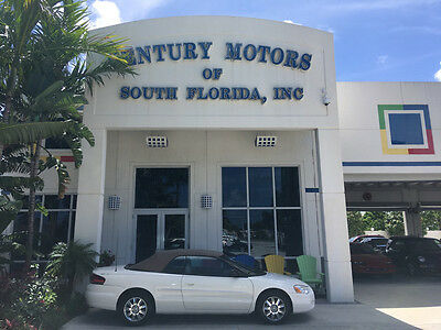2004 Chrysler Sebring  NIADA CERTIFIED WARRANTY FLORIDA LIMITED LOADED WHITE