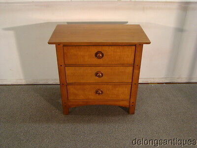44059:Hooker Cherry & Tiger Maple Night-Stand
