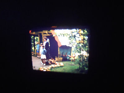 8mm Film Home Movie NY Adirondacks Enchanted Forest North Pole Frontier Town 59