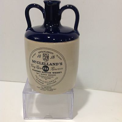 McClelland's Very Rare Res Scotch Whiskey 4/5 Qt. Jug Est 1818 Glasgow Scotland