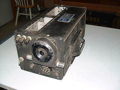 USN CW-46048D  RU-19 AIRCRAFT RADIO RECEIVER  with E COIL  looks UNMODIFIED