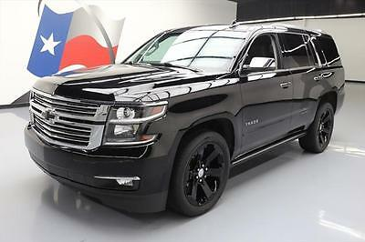 2015 Chevrolet Tahoe LTZ Sport Utility 4-Door 2015 CHEVY TAHOE LTZ 4X4 8PASS SUNROOF NAV DVD 22'S 65K #578695 Texas Direct