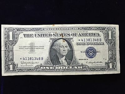 $1 Silver Certificate 1957B Granahan Dillon * STAR NOTE *