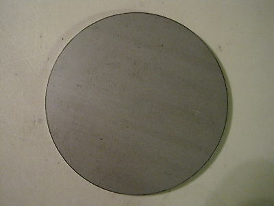 "1/8"" Steel Plate, Disc Shaped, 6.00"" Diameter, .125 A36 Steel, Round, Circle"