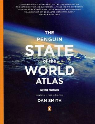 The Penguin State Of The World Atlas - Smith, Dan - New Paperback Book