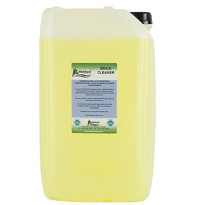 Brick/Patio Cleaner. Hydrochloric Brick Acid. 25 Litres-Midchem Speciality