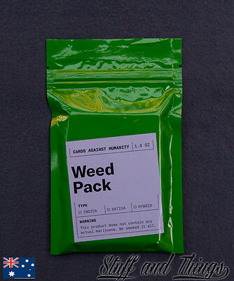 Cards Against Humanity - Weed Expansion Pack *Genuine* *NEW* *Limited Edition*