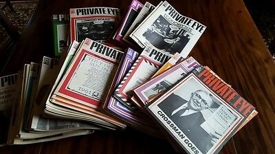 Private Eye - 152 Magazines 1967 -1977