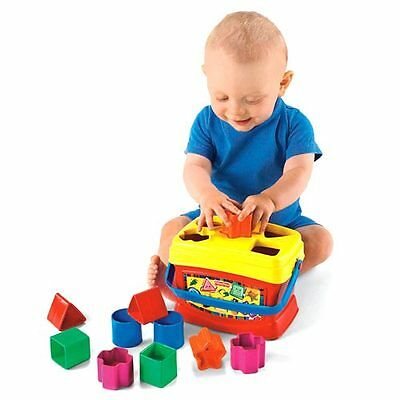 Fisher Price Brilliant Basics Baby's First Blocks Brand New In Box K7167