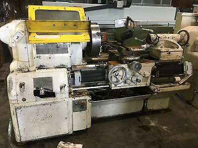 "Used 20x24 Monarch Engine Lathe 18"" 4-Jaw Chuck"