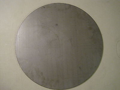 "1/4"" Steel Plate, Disc Shaped, 17.00"" Diameter, .250 A36 Steel, Round, Circle"