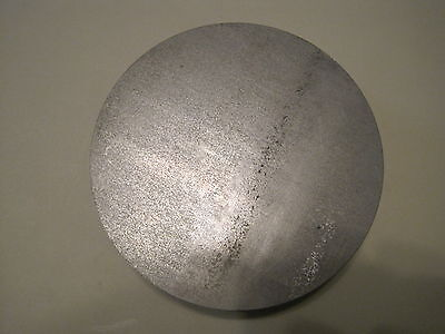 "1/4"" Steel Plate, Disc Shaped, 3"" Diameter, .250 A36 Steel, Round, Circle"