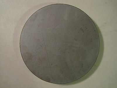 "1/2"" Steel Plate, Disc Shaped, 10"" Diameter, .500 A36 Steel, Round, Circle"