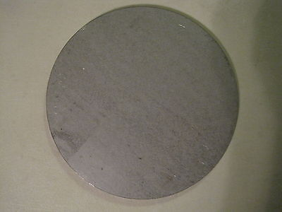 "3/16"" Steel Plate, Disc Shaped, 4"" Diameter, .1875 A36 Steel, Round, Circle"