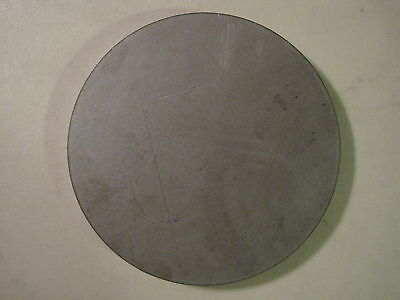 "1/2"" Steel Plate, Disc Shaped, 5"" Diameter, .500 A36 Steel, Round, Circle"