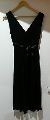 maternity dress, black, sz S, 10-12