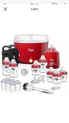 Tommee Tippee Red Bottle Set